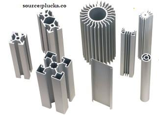 Aluminium-metal-extrusion