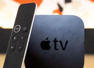 Apple TV 4K plastic case