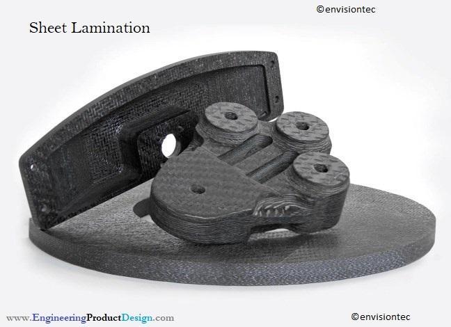 Carbon fibre sheet laminated parts