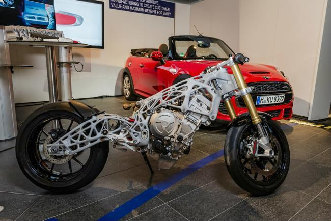 S1000RR sports bike chassis-2