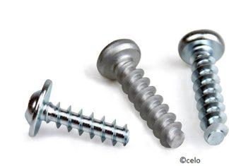 Self tapping screws for plastic