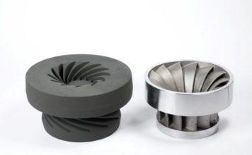 binder jetting impeller sand casting