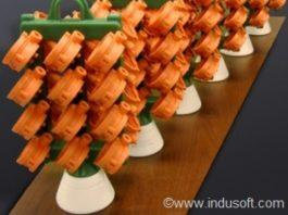 investment casting cluster
