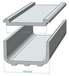 Extrusion metal tolerance